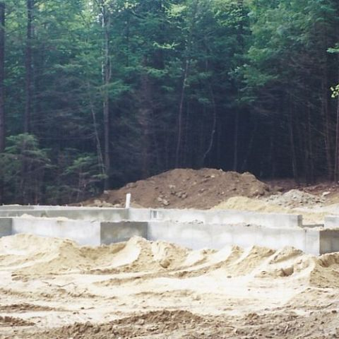 Foundation is ready for the build.