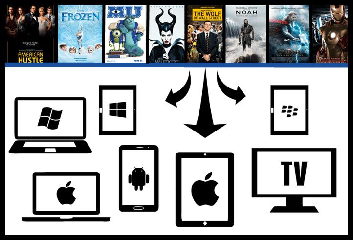 Hollywood VOD Content Sales Platform