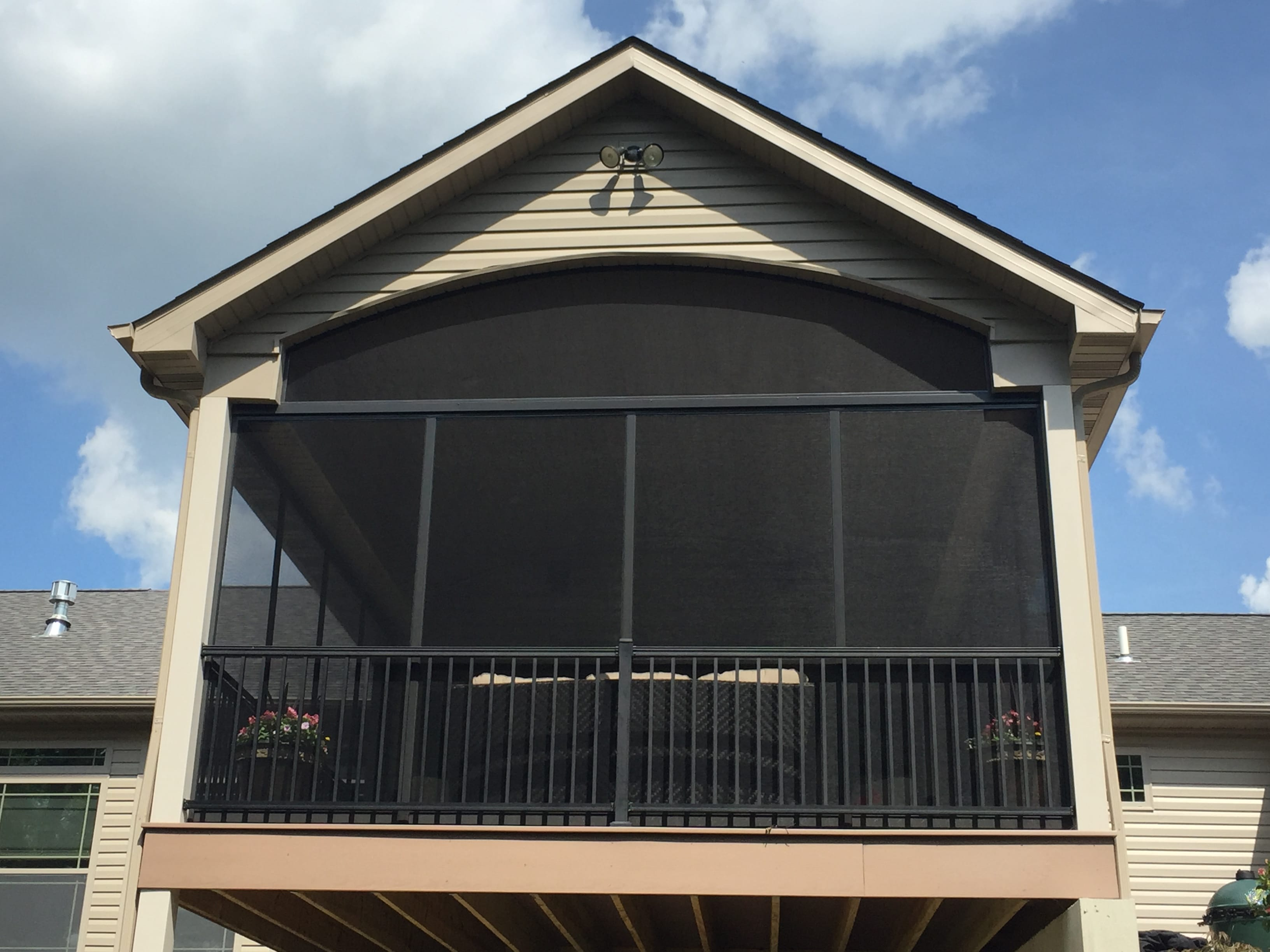 custom made porch screens by broadview