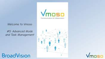 Welcome to Vmoso #5 - Advanced Mode and Task Management - Vimeo thumbnail image