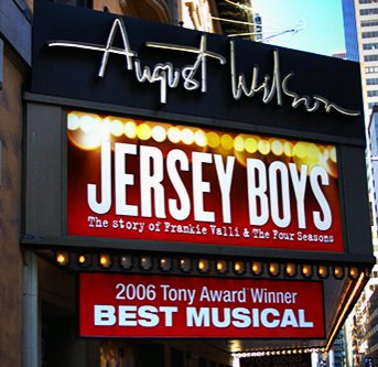 Jersey Boys by August Wilson, Broadway NYC
