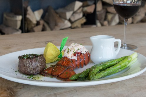 Filet with Lobster Tail
