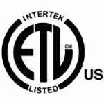 ETL Listed for install anywhere in the United States