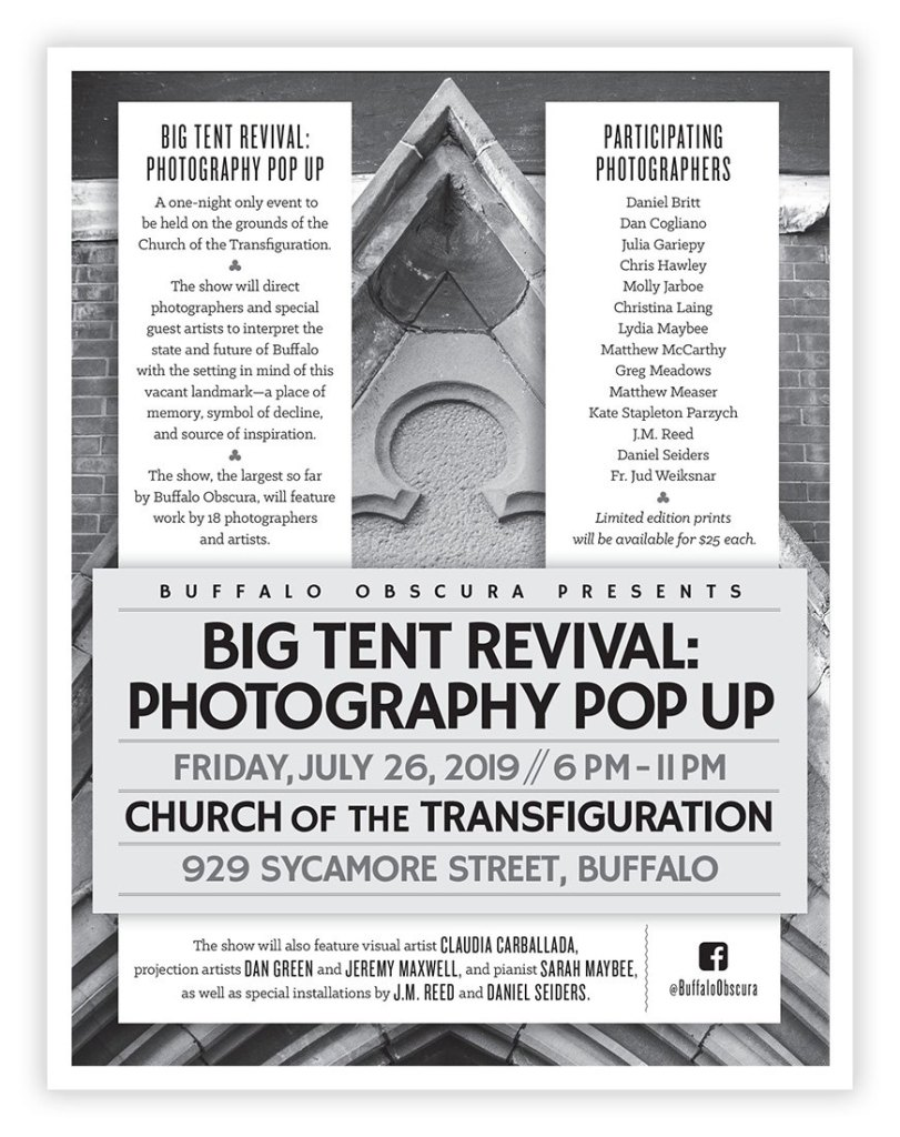 Big Tent Revival: Photography Pop Up – On the Grounds of