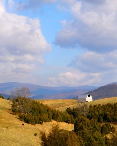 Fred Eberhart, Blue Ridge Barn, digital photograph