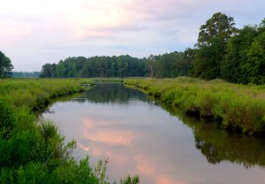 Fred Eberhart, Clouds on Indian Creek, digital photograph