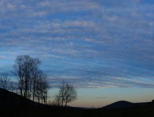 Fred Eberhart, Under Dawn's Veil, digital photograph