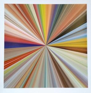 "Genna Gurvich, ""Jeff Koons"", 24"" x 24"", Art Print on Paper"