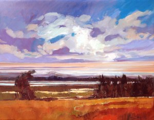 Ken Strong, First of the Wet Season, 36X28, Oil on canvas