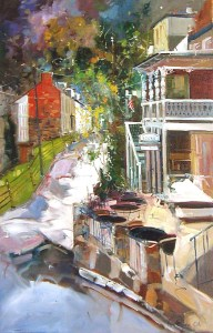 Ken Strong, Harpers Ferry Heritage, 24X36, Oil on canvas