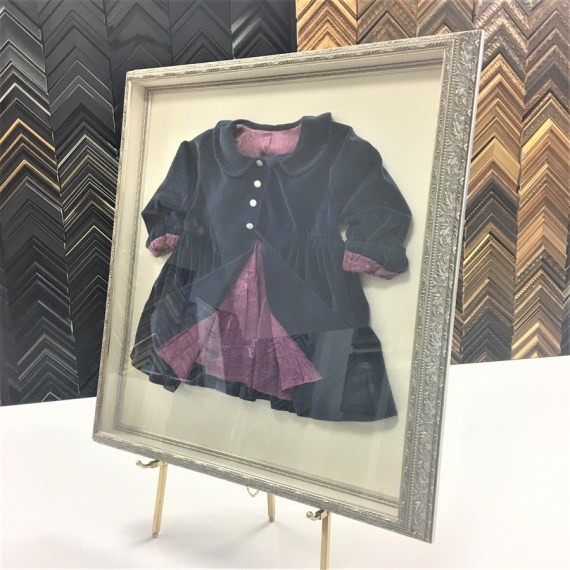 Childs purple velveteen jacket