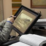 art and frame appraisal at Broadway Gallery concentrate