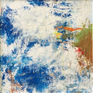 """Buck Nelligan, """"Untitled Abstract 3"""", Acrylic on Canvas, 30"""" x 30"""""""