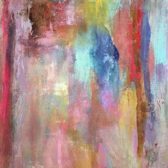 Courtney Kolker Canopee 40x30 Acrylic on Canvas