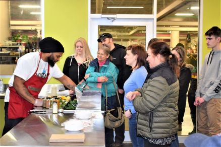 Kitchen @ the Market - Food Demonstration w/Jimmy Posey of Ketchup and Mustard Vegan on the Go