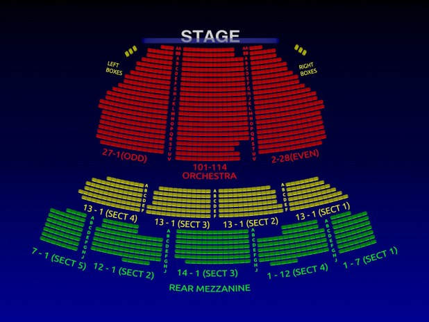 Gershwin Theatre Interactive Seating Chart Brokeasshome Com