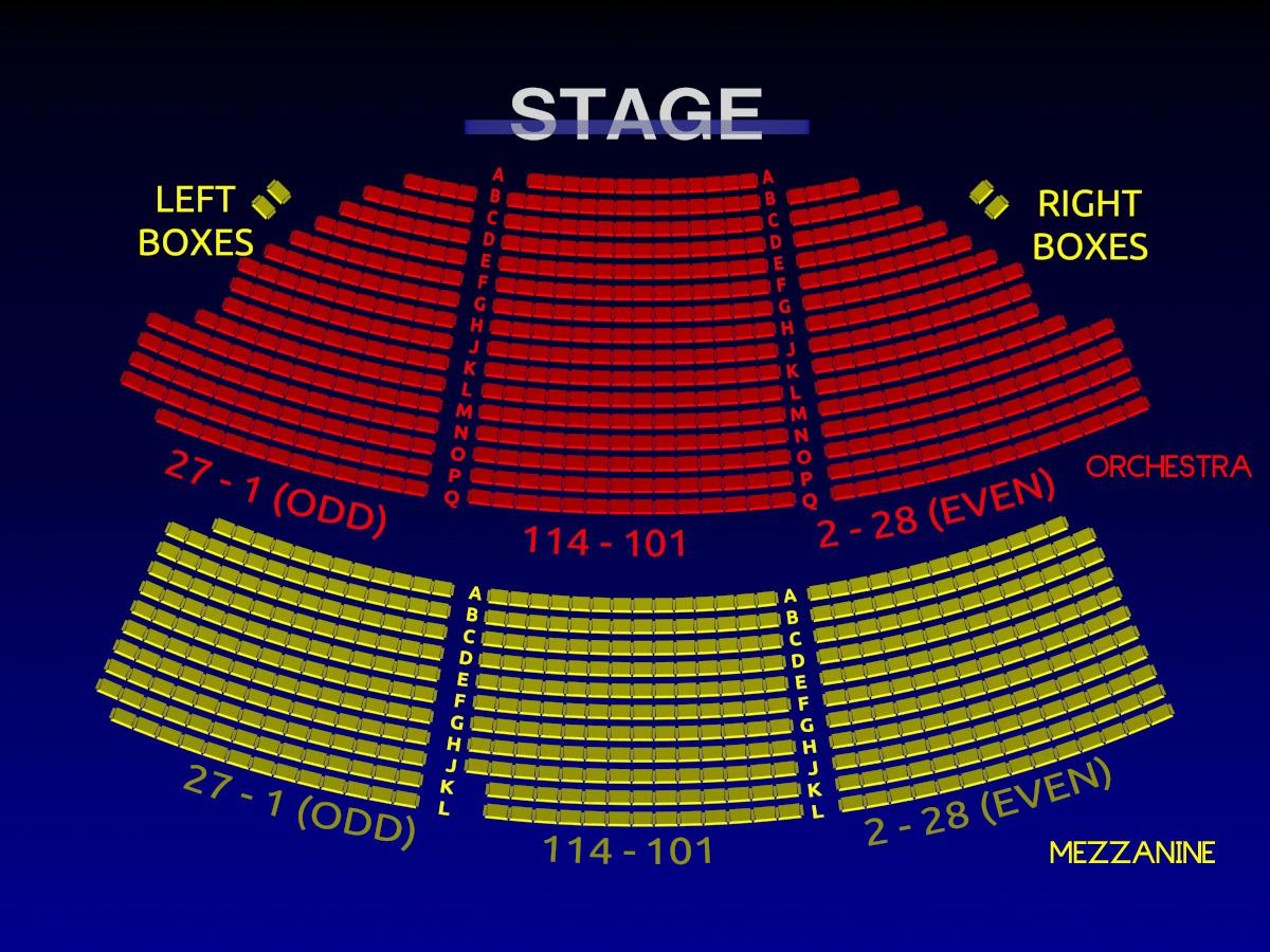 Music Box Theatre 3 D Broadway Seating Chart History