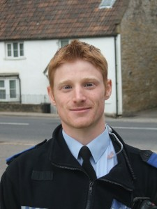 Community Police Officer, Alex Bishop