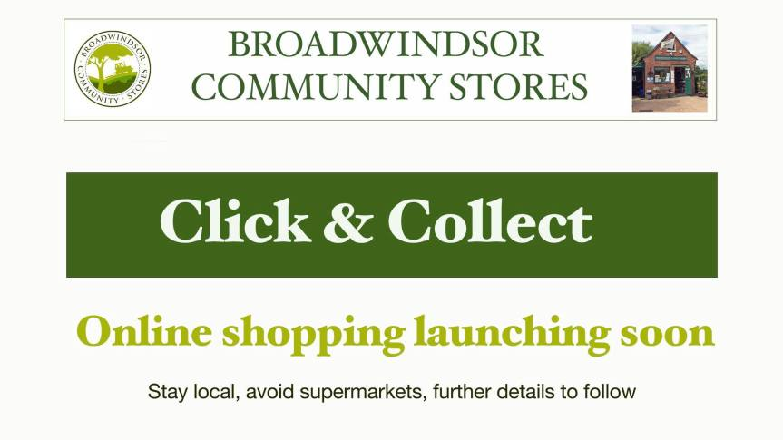 Click and Collect from Broadwindsor Community Stores