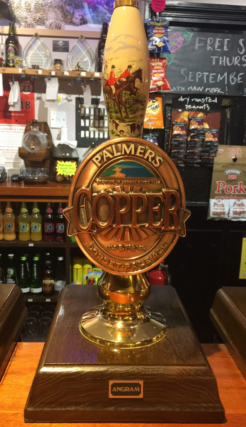Palmers Copper Ale is Back at The White Lion