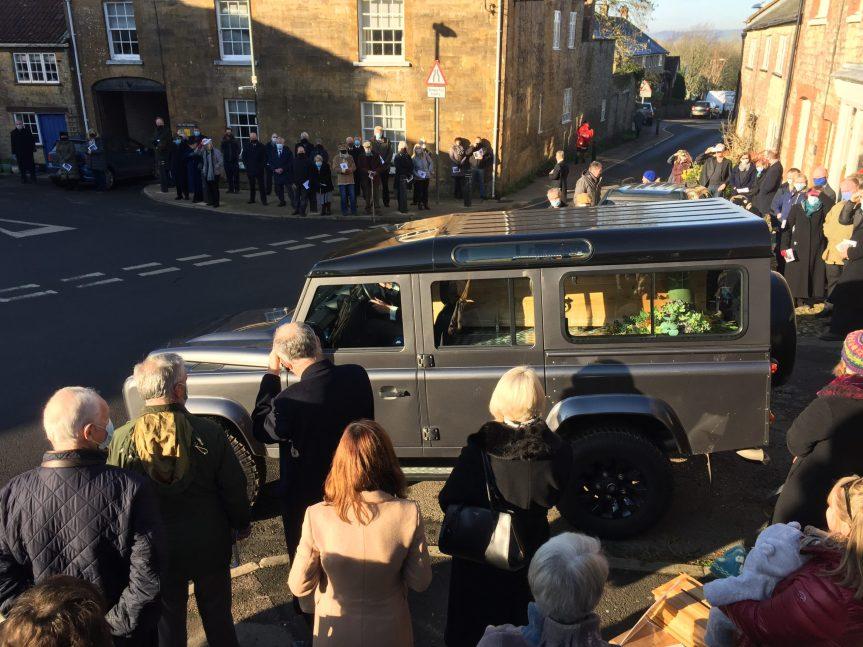 Michael Frampton Laid to Rest