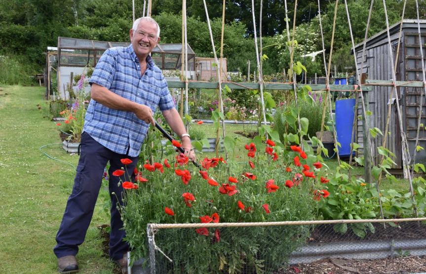 Villager's Allotment Takes First Prize