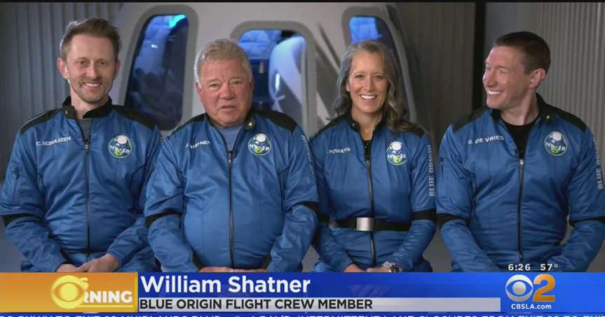 Captain Kirk Boldly Goes Where No 90 year Old Has Gone Before