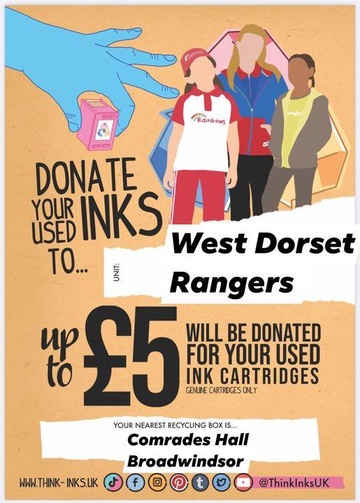 Broadwindsor's Rangers Taking Used Ink Cartridges