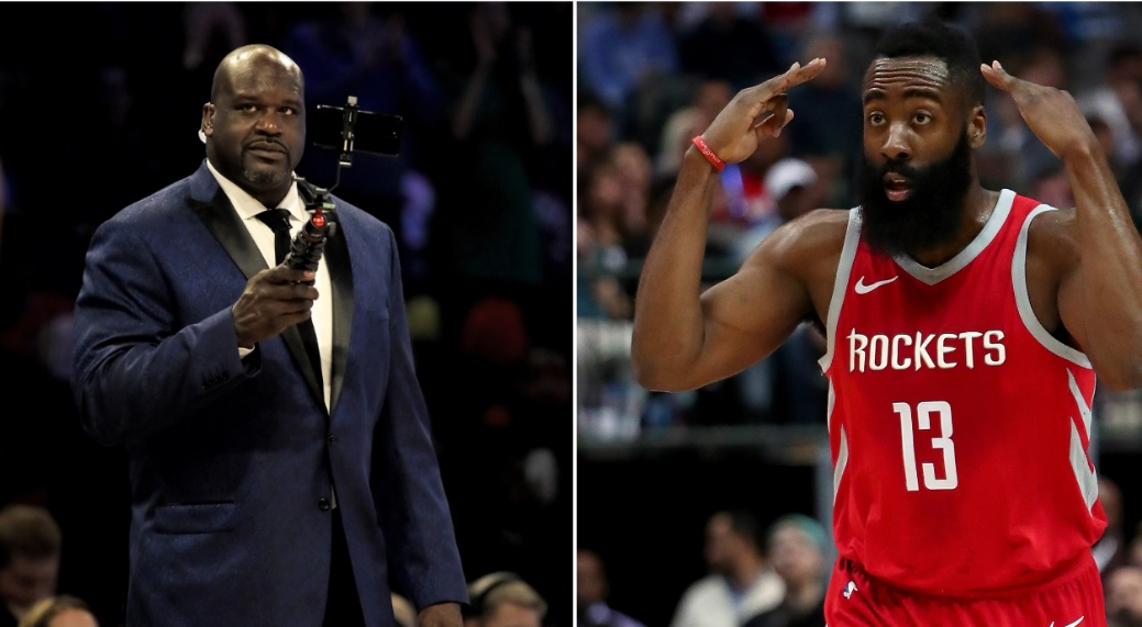 Shaq Rips James Harden To Shreds For Lying About His Time In Houston  'When You Say You Gave the City Your All, That Ain't True'