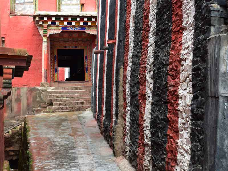 Dzongsar main hall