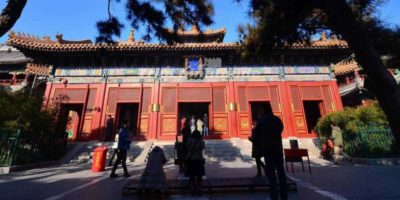 Yonghe Temple main