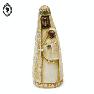 Statue, statue beige, vierge, vierge Marie, statue religieuse, statue Marie, statue vierge marie, statue ancienne, statue vintage, statue dolomie, objet de dévotion, statue religieuse, objet religieux, objet de prière, en dolomie, Artisanats des Monastères de Bethléem, Mougères, statue 14,5 cm, vierge 14 cm, Notre Dame de la Vie, vierge notre Dame de la vie, vierge Bethléem, objet dolomie, objet en dolomie,