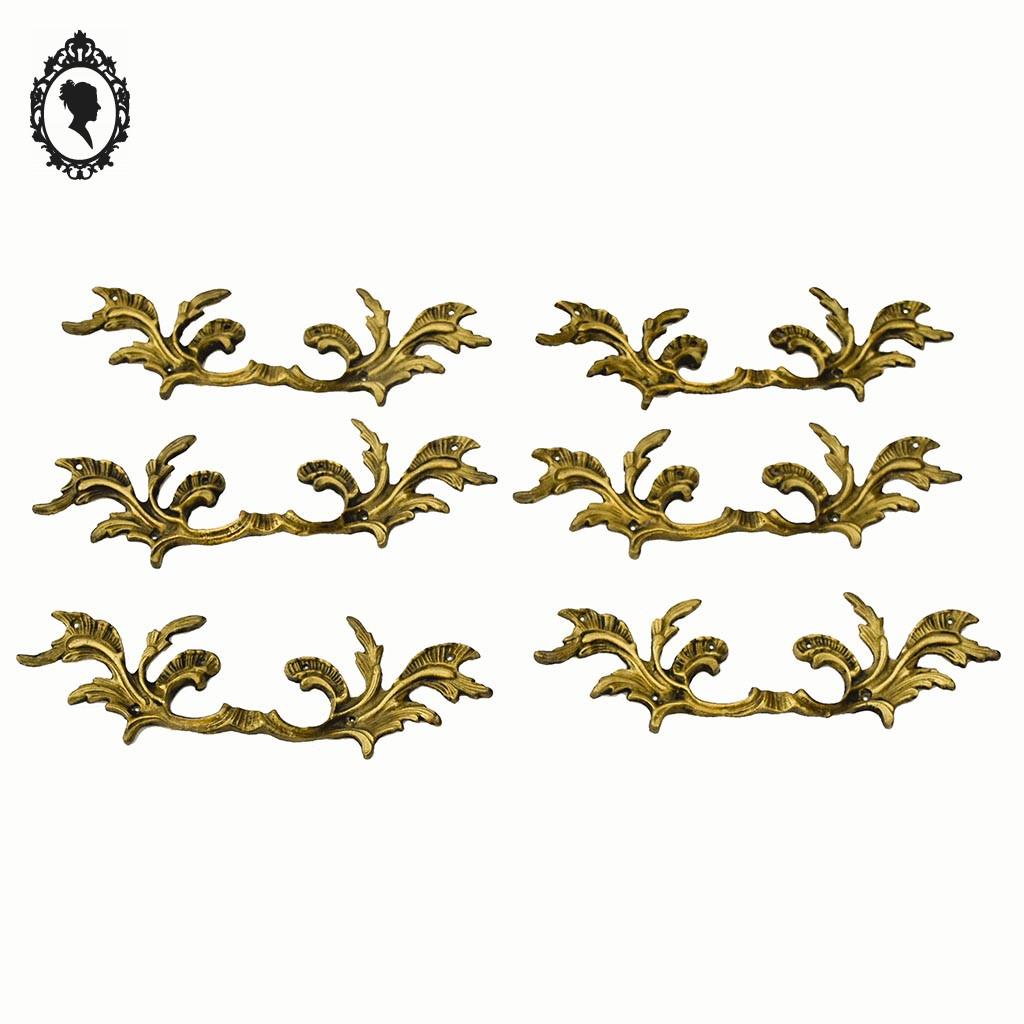 bronze laiton dore commode baroque