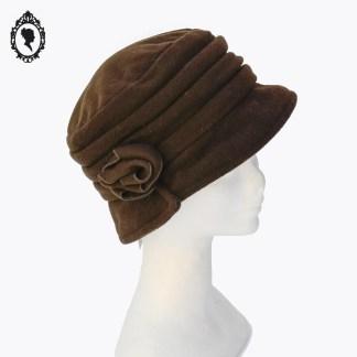 Chapeau, chapeau laine, chapeau chic, chapeau cloche, chapeau femme, chapeau élégant, chapeau marron, chapeau femme hiver, chapeau hiver, chapeau polaire, chapeau taille M, chapeau 56, chapeau Firenze, Firenze, Firenze Italie, accessoire marron, idée cadeau, chapeau hiver, chapeau cloche hiver, chapeau hiver polaire, idée cadeau maman, idée cadeau femme, idée cadeau grand-mère,