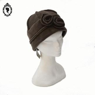 Chapeau, chapeau chic, chapeau cloche, chapeau femme, chapeau élégant, chapeau marron, chapeau femme hiver, chapeau hiver, chapeau polaire, chapeau taille M, chapeau 57, chapeau Crambes, Crambes, accessoire marron, idée cadeau, chapeau hiver, chapeau cloche hiver, chapeau hiver polaire, idée cadeau maman, idée cadeau femme, idée cadeau grand-mère,