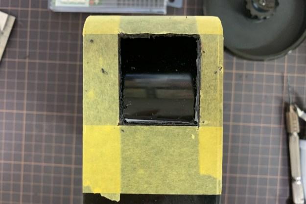 フィルムローダーの加工