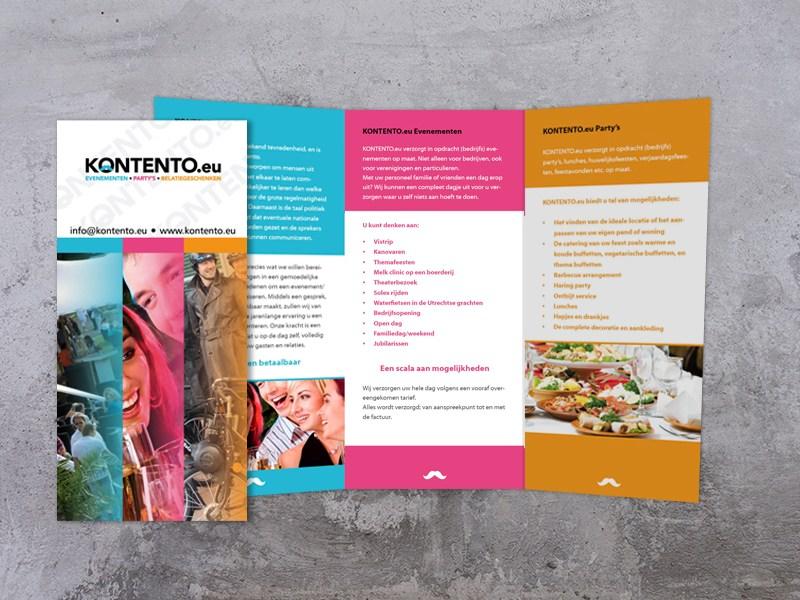 folder ontwerp, Kontento.eu