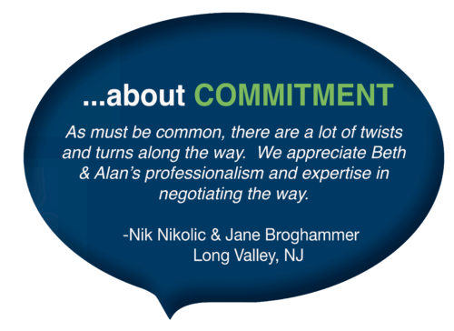 Commitment speech bubble