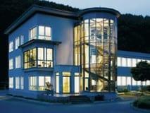 Verwaltungsgebäude der Firma Brockhaus Stahl GmbH, das Kaltwalzwer der Brockhaus Unternemensgruppe