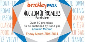 Poster for Auction of Promises fundraiser