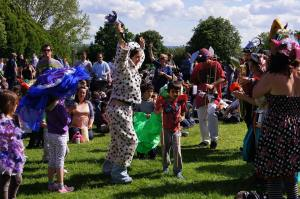 Animal Parade on Hilly Fields, Brockley Max 2012