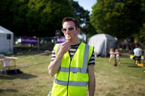 Volunteer at Brockley Max 2014