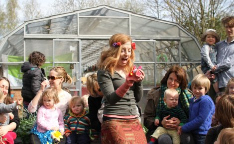 Helen Tozer tells captivating childrens' stories about unearthing London's secrets