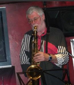 Jerry Palmer plays mellow saxophone