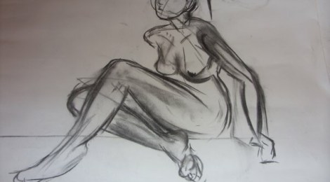 Life Drawing Class @ Ladywell Gallery