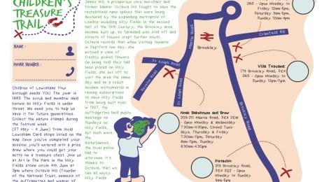 Treasure Trail Map - page 1