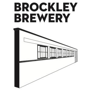 Brockley Brewery - White logo