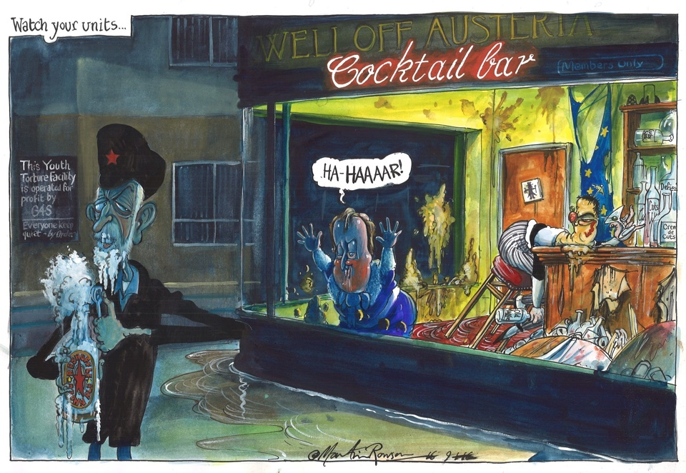 Watch your units - Martin Rowson