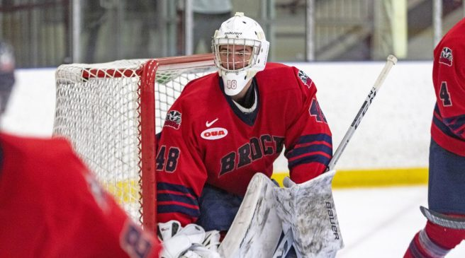 Former Badgers goalie signs with NHL's Golden Knights – The Brock News