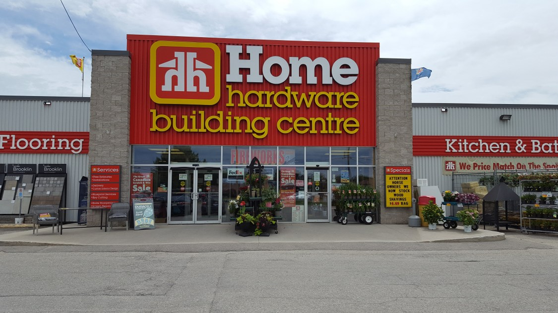 Brockville Home Hardware Building Centre Store Front